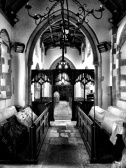 The view from the chancel.