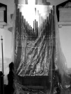 The organ under a shroud!