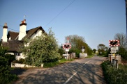 South Scarle Railway Crossing copyright Richard Croft