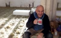 Simon (LC Plumbing) taking a quick break for a culpa