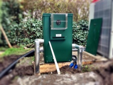 Refrigeration unit for the air source heat pump