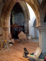 South Aisle to Bell Tower