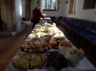 Plenty for the 120 guests anticipated....