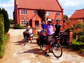 The HandleBards off to their next show